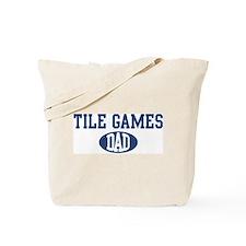 Tile Games dad Tote Bag