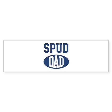 Spud dad Bumper Sticker