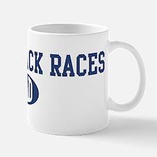 Potato Sack Races dad Mug