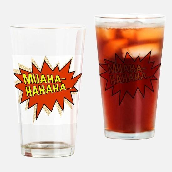 Muahahahaha Evil Laugh Drinking Glass