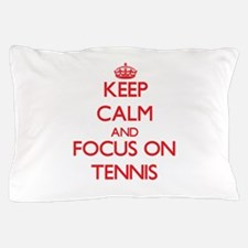 Funny Keep calm and tennis on Pillow Case