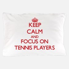 Cute Keep calm and tennis on Pillow Case