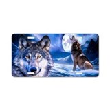 Wolf License Plates