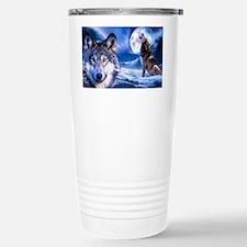 Wolf decor Travel Mug