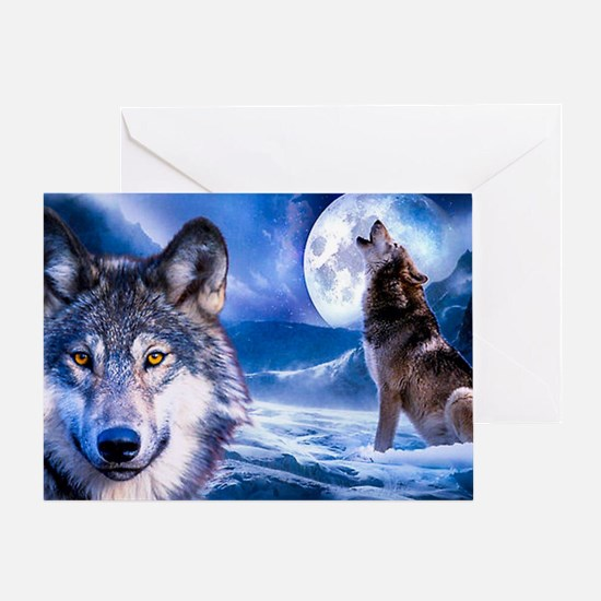 Wolf decor Greeting Card