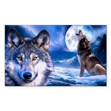 Wolf decor Decal