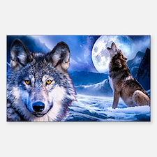 Wolf decor Decal