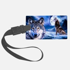 Wolf decor Luggage Tag