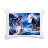 Wolf Rectangle Canvas Pillows