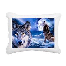 Wolf decor Rectangular Canvas Pillow