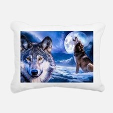 Wolf decor Rectangular Canvas Pillow