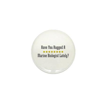 Hugged Marine Biologist Mini Button (100 pack)