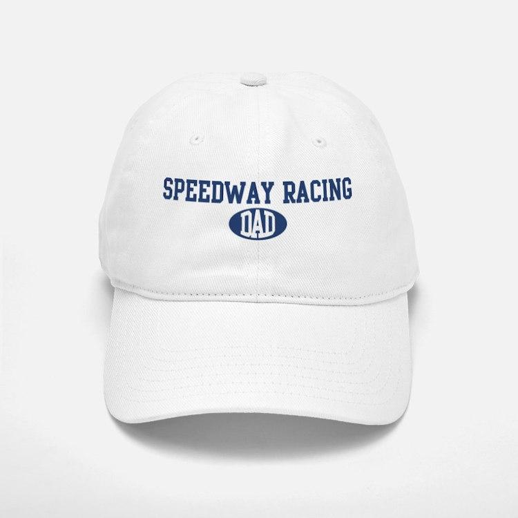 Speedway Racing dad Baseball Baseball Cap