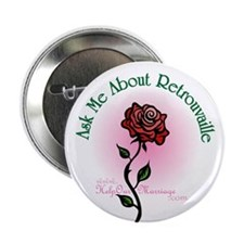 Ask Me Rose Button #2 (10 pack)