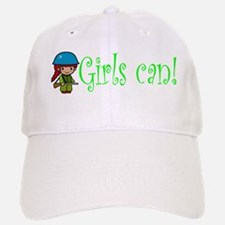 Girl Soldier Baseball Baseball Cap