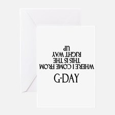 G-DAY Greeting Cards