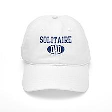 Solitaire dad Baseball Cap