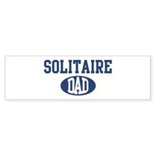 Solitaire dad Bumper Bumper Sticker