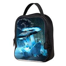 Ice Fairytale World Neoprene Lunch Bag