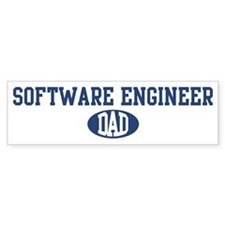 Software Engineer dad Bumper Bumper Sticker