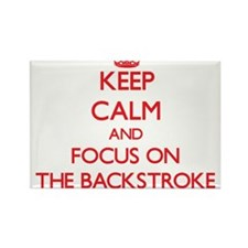 Keep Calm and focus on The Backstroke Magnets