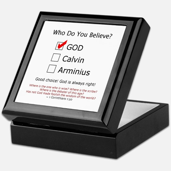 Who Do You Believe? - Keepsake Box