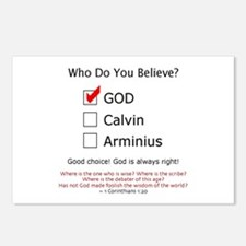 Who Do You Believe? - Postcards (Package of 8)