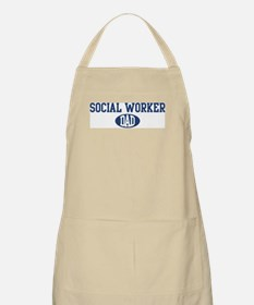 Social Worker dad BBQ Apron