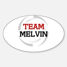 Melvin Oval Decal