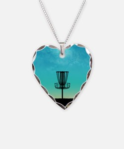 Disc Golf Basket Necklace