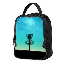 Disc Golf Basket Neoprene Lunch Bag