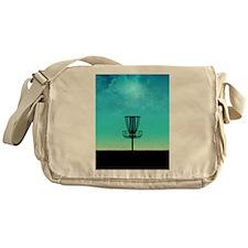 Disc Golf Basket Messenger Bag