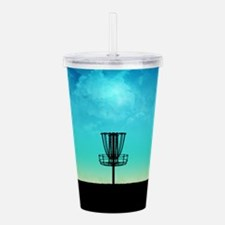Disc Golf Basket Acrylic Double-wall Tumbler