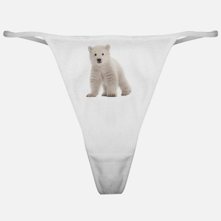 Polar bear cub Classic Thong