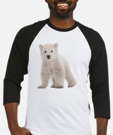 Polar bear cub Baseball Jersey