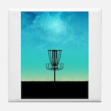Disc Golf Basket Tile Coaster