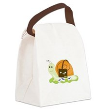 Snail Mailman Canvas Lunch Bag