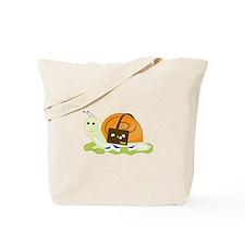 Snail Mailman Tote Bag