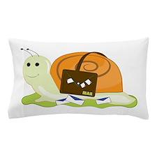 Snail Mailman Pillow Case