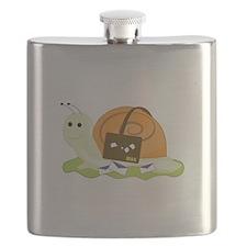 Snail Mailman Flask