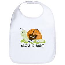 Slow is Best Bib
