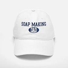 Soap Making dad Baseball Baseball Cap