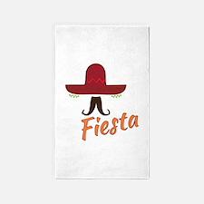 Fiesta Sombrero 3'x5' Area Rug