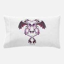 Purple Love Dragons Pillow Case