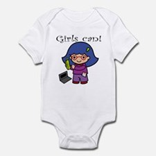 Girl Computer Professional Infant Bodysuit