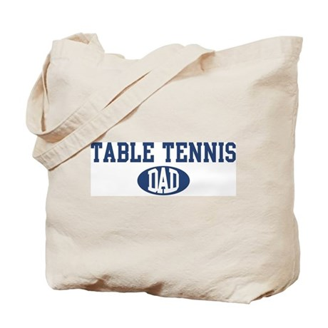 Table Tennis dad Tote Bag