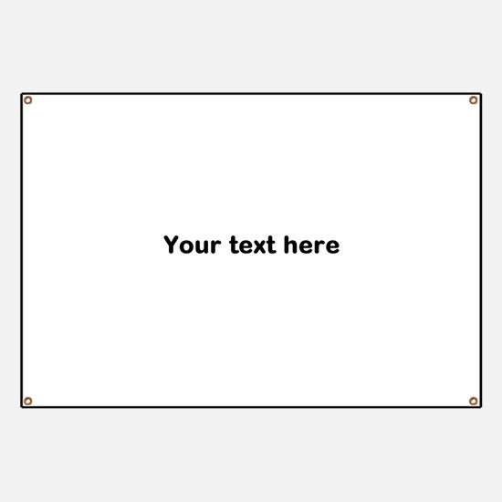 Template Your Text Here Banner