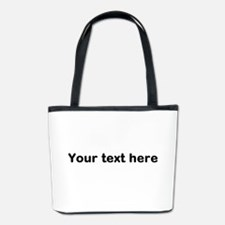 Template Your Text Here Bucket Bag