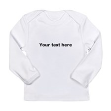 Template Your Text Here Long Sleeve T-Shirt