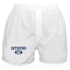 Skydiving dad Boxer Shorts